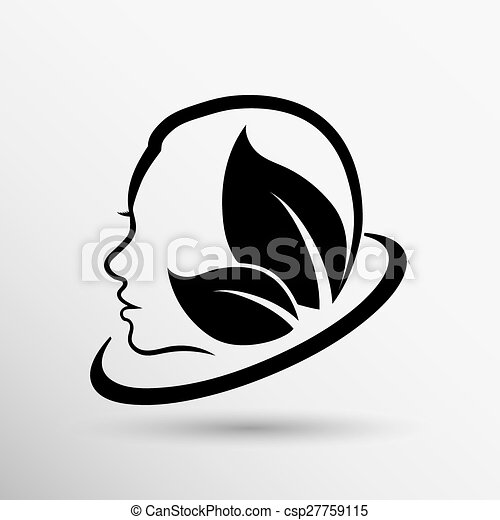 women health, beauty and treatment symbols, emblems icons. - csp27759115