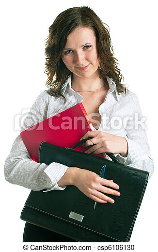 women in a business suit - csp6106130