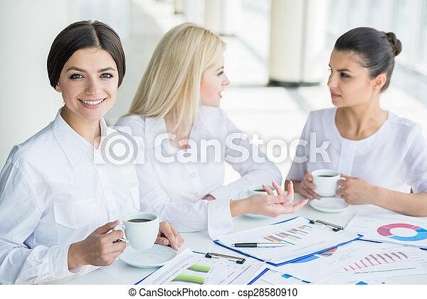 Women in business - csp28580910