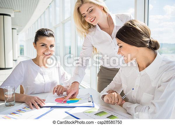 Women in business - csp28580750
