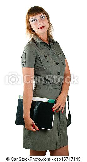 women in suit - csp15747145