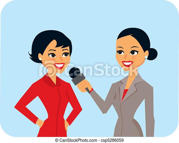 Women Interviewing - csp5286059
