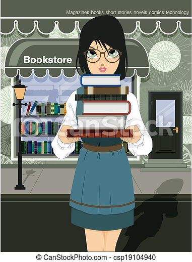 Women readers - csp19104940
