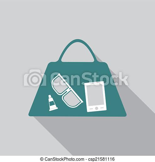 Women's bag icon - csp21581116