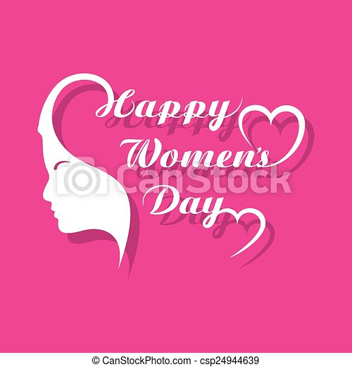 Womens day greeting card design vector illustration womens day greeting card design csp24944639 m4hsunfo