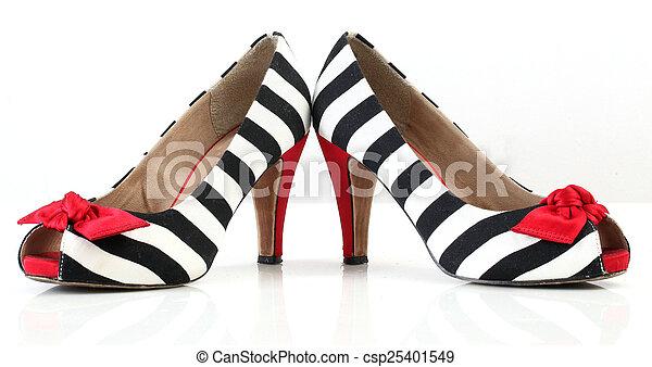 women's fashion shoes. - csp25401549