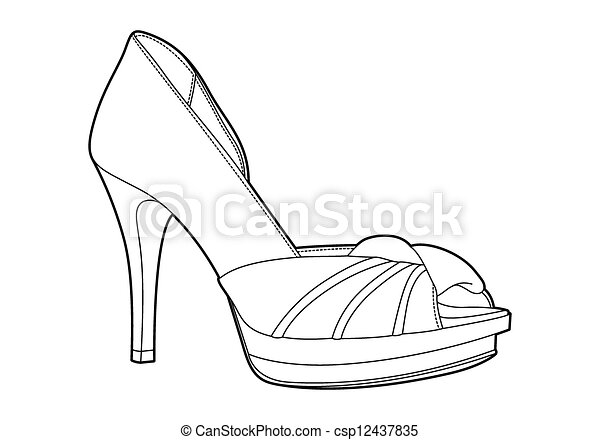 women's shoes - csp12437835