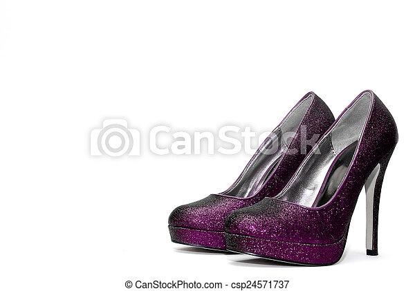 Womens sparkly high heels - csp24571737