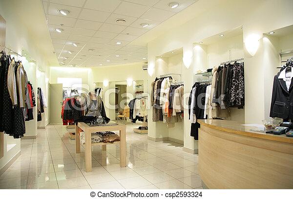 women`s upper clothes in shop - csp2593324