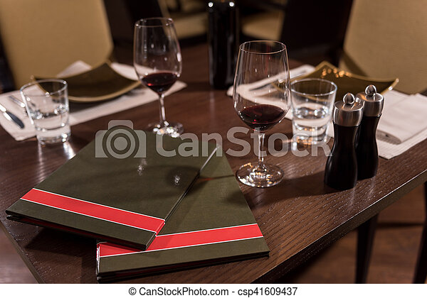 Wonderful Big Table In The Restaurant Table For A Business Meetings - Standing table for restaurant