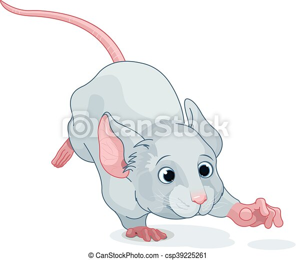 Wonderland Mouse - csp39225261