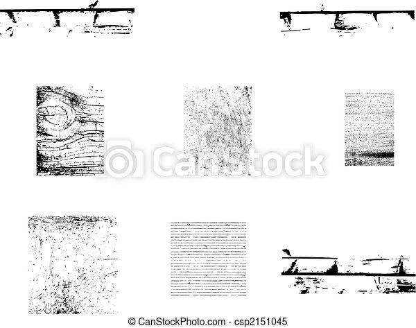 Wood and wall texture - csp2151045