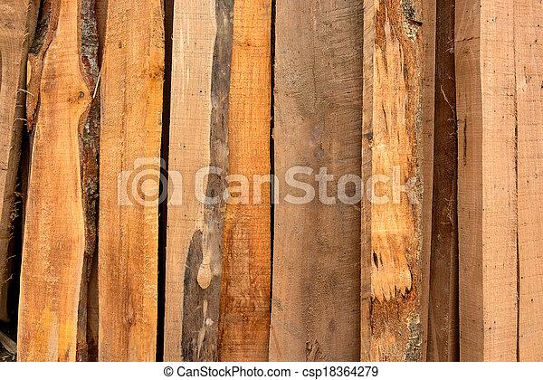 Wood background - csp18364279