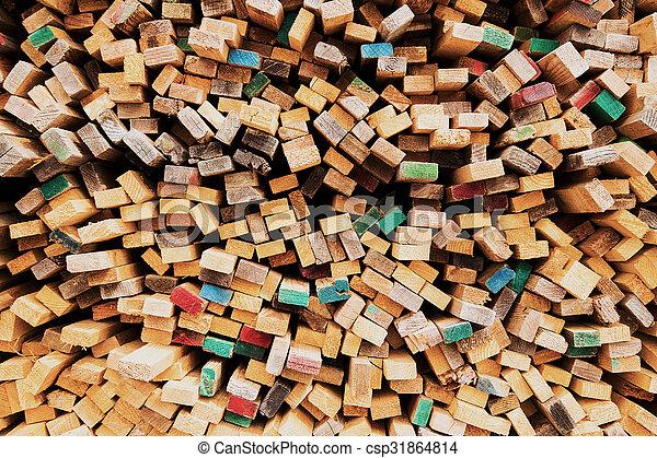 Wood background - csp31864814