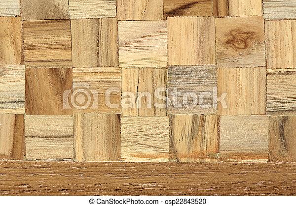 wood block square texture background csp22843520