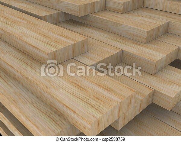 wood boards - csp2538759