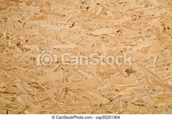 wood chips pressed close up - csp35251304