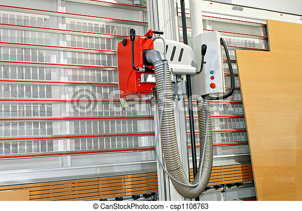 Wood cutter - csp1108763