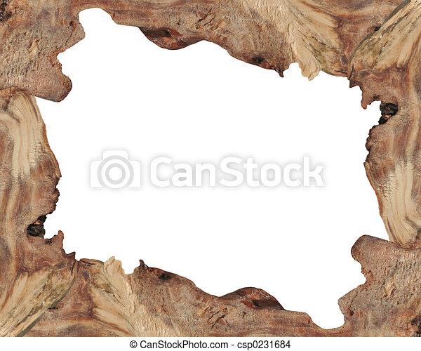 Wood Border Drawing