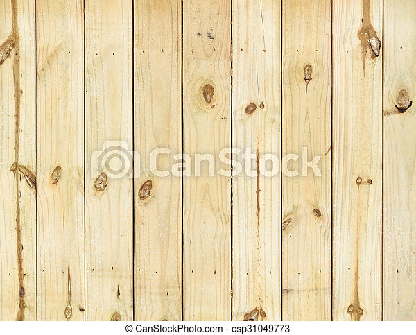 Wood fence - csp31049773