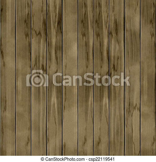 Wood fence seamless generated hires texture - csp22119541
