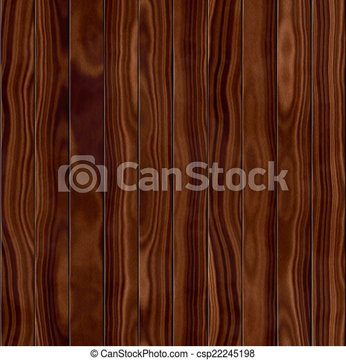 Wood fence seamless generated hires texture - csp22245198