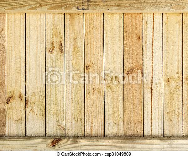 Wood fence texture - csp31049809