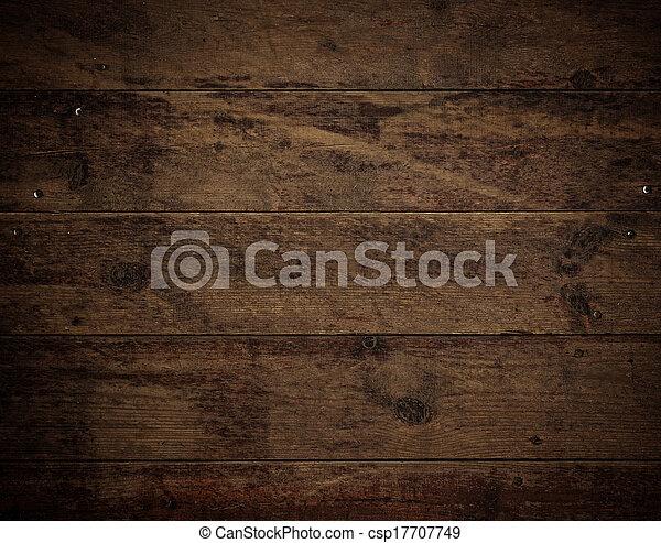 Wood Floor Background - csp17707749