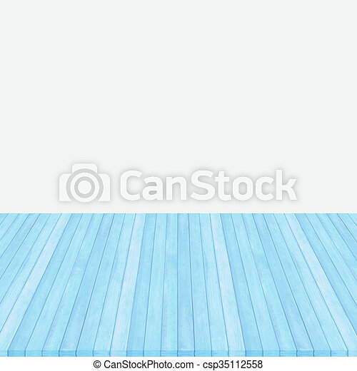 Wood floor pink pastel colour perspective on gray background. - csp35112558