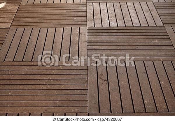 Wood floor texture #2 - csp74320067