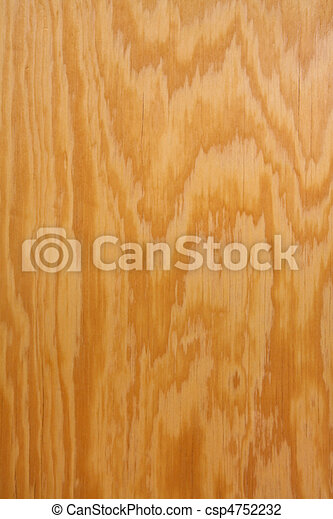 Wood grain on plywood vertical - csp4752232