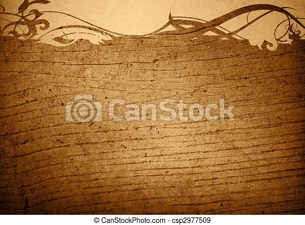 wood grungy background - csp2977509