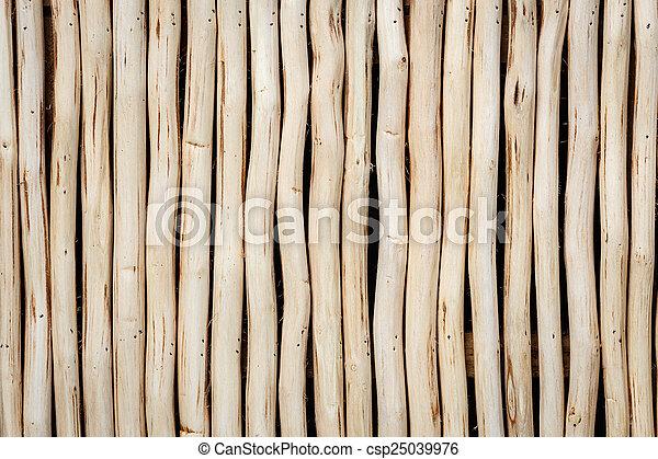 Wood log background textured - csp25039976