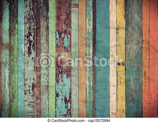Wood material background for Vintage wallpaper - csp10572994