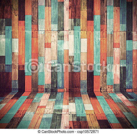 Wood material background for Vintage wallpaper - csp10572871