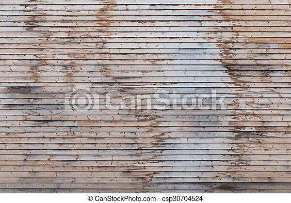 Wood paneling - csp30704524