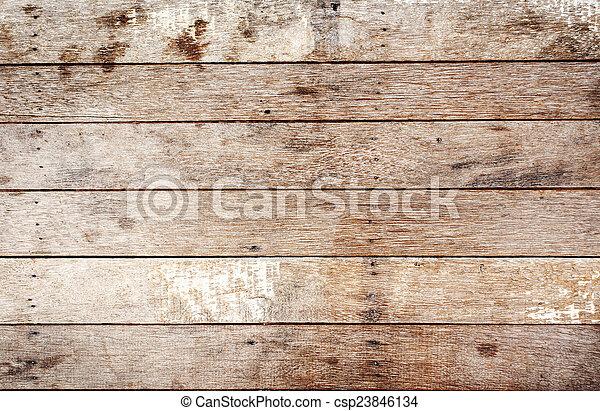 Wood plank background - csp23846134