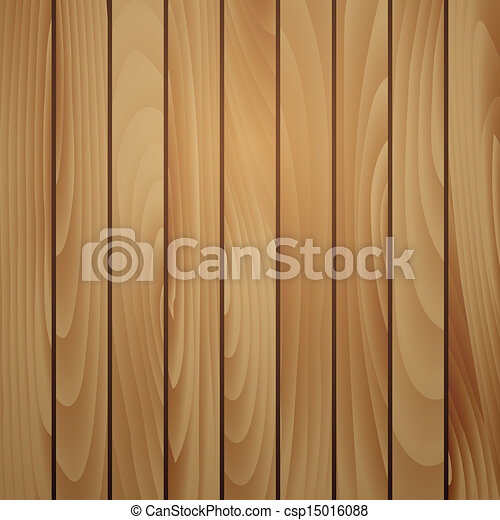Wood plank brown texture background - csp15016088