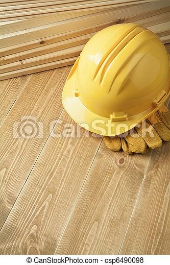 Wood planks - csp6490098