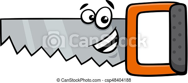 wood saw cartoon character cartoon illustration of wood saw rh canstockphoto com saw clipart black and white saw clipart free