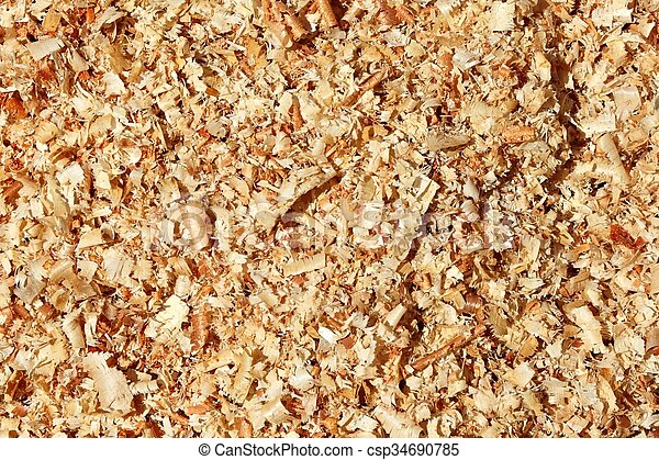 wood shavings - csp34690785