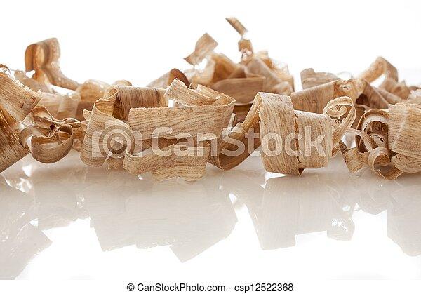 wood shavings - csp12522368