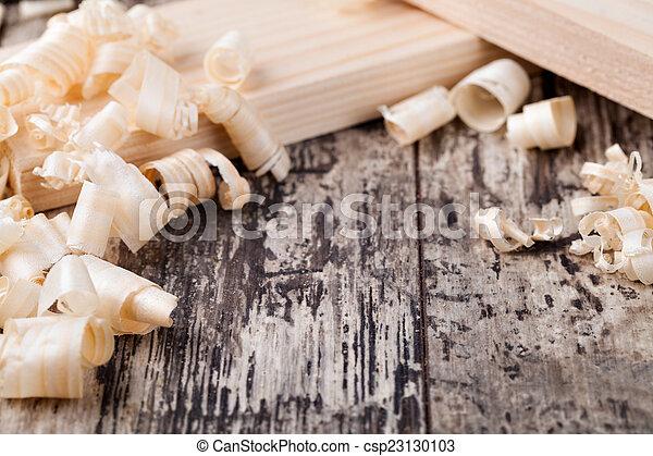 Wood shavings - csp23130103