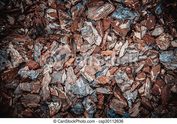 Wood shavings - csp30112636