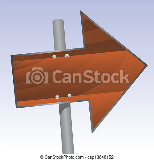 wood sign - csp13848152