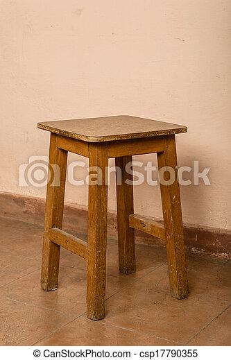 Wood stood - csp17790355