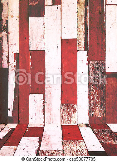 wood texture background old panel - csp50077705