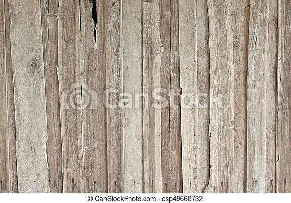 Wood texture background - csp49668732