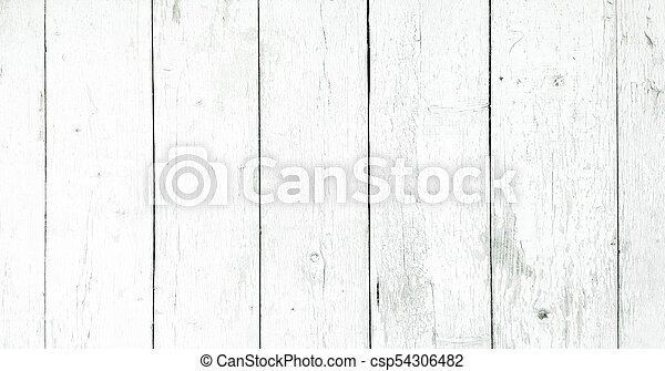 Wood Texture Background White Planks Grunge Washed Wall Pattern