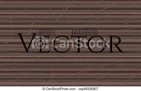 Wood Texture Vector Eps10 Illustration Natural Ebony Wooden Background